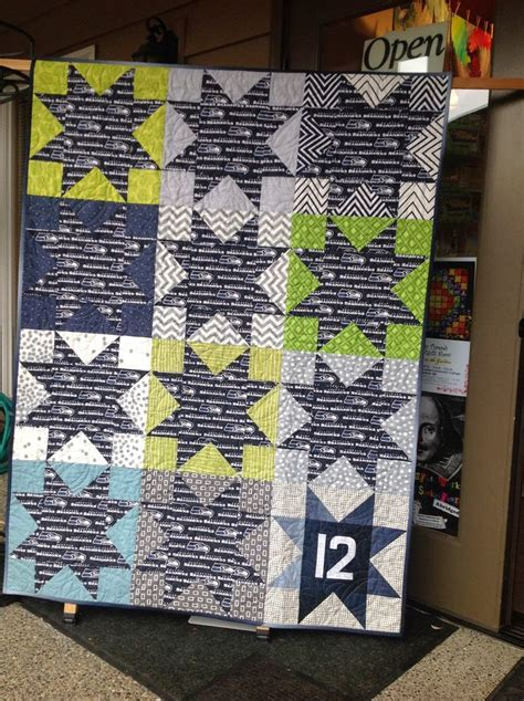 Quilt Shops In Seattle by Seahawk 12th Quilt Quilting