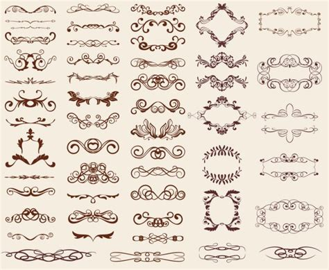 cute lace pattern vector european style lace pattern 02 vector material european