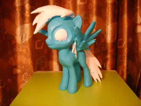 Rainbow Dash Papercraft - mlp papercraft rainbow dash part 3 by zmatom on deviantart