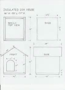 Free House Plans With Material List by Dog House Drawing And Materials List