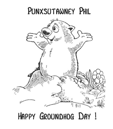 groundhog day sheet happy groundhog day northern news