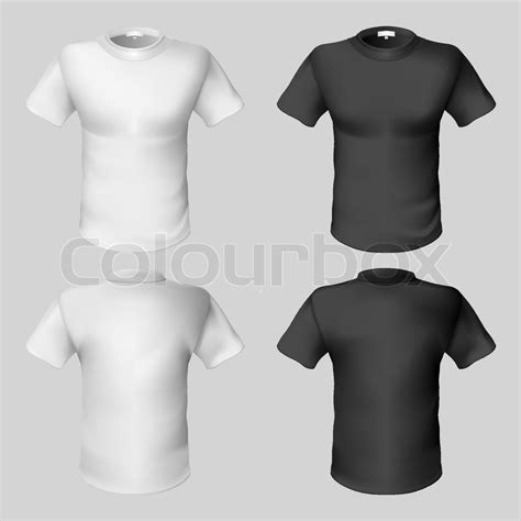 design a shirt front and back t shirt design template front and back stock vector