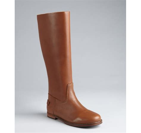Light Brown Boots by Pour La Victoire Light Brown Calfskin Boots In Brown