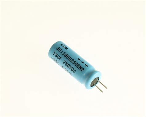 reliability of cde aluminum electrolytic capacitors 301180u250en2 cornell dubilier cde capacitor 18uf 250v aluminum electrolytic radial high temp