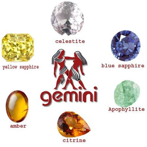 gemstone for gemini best selection gemini zodiac