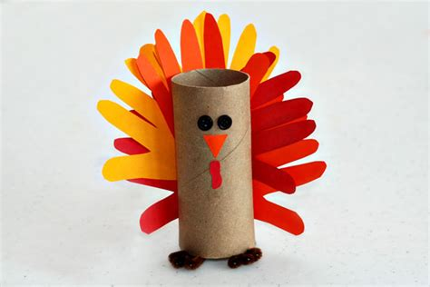 How To Make A Paper Turkey For - gobble gobble make a paper turkey craft