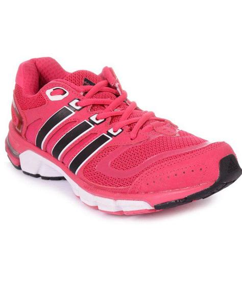 adidas pink lace running sports shoes  women price