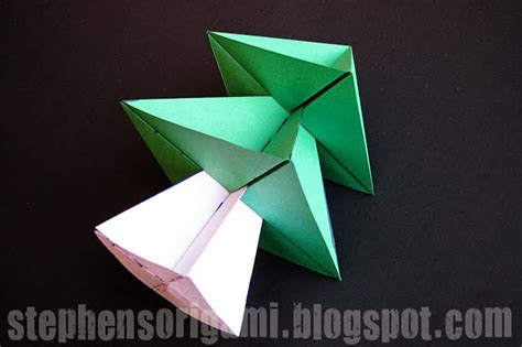 Origami Tree 3d Step By Step - 3d origami tree paper origami guide