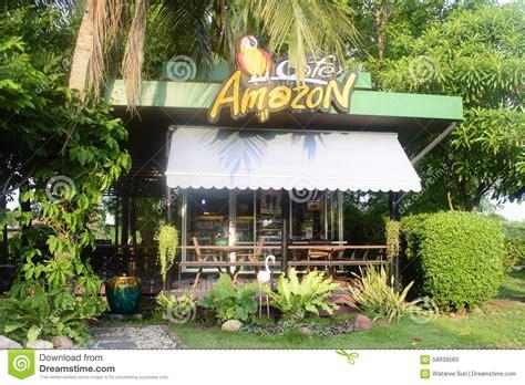 amazon thailand coffee amazon cafe amazon coffee shop editorial stock