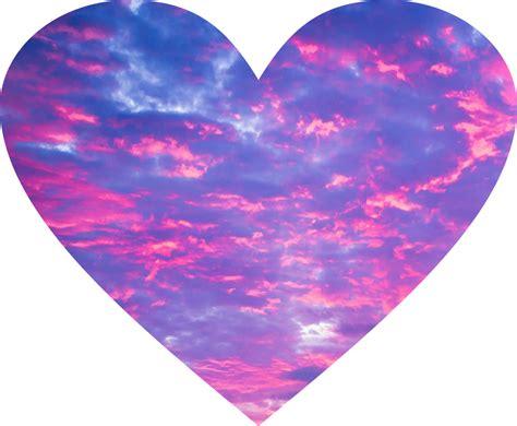 imagenes tumblr png corazones corazon rosa cielo tumblr lindo rosa violeta lila delic