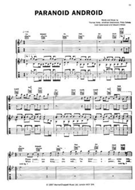 paranoid android chords 1000 images about sheets of on sheet piano sheet and yann tiersen