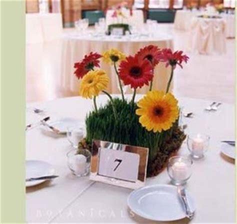 gerbera daisy centerpieces weddingbee