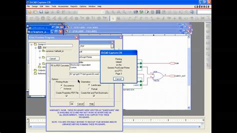 download layout orcad 16 2 intelligent pdf generation in orcad capture youtube