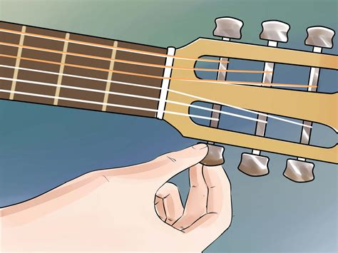 Tuner Gitar how to tune a guitar without a tuner 7 steps with pictures