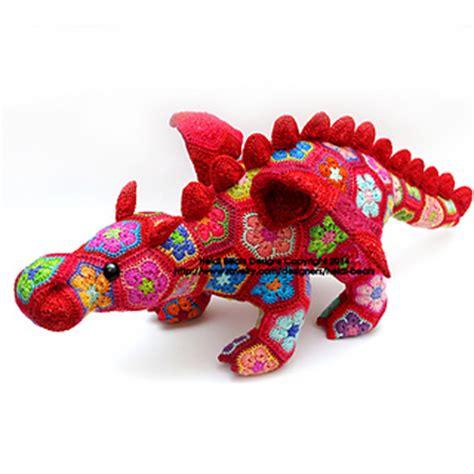 free pattern heidi bears ravelry smaug the african flower dragon pattern by heidi