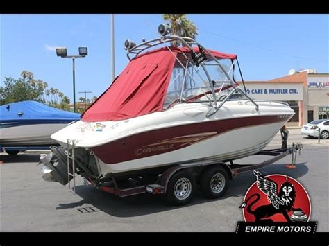 mid cabin bowrider boats caravelle 240 mid cabin 2000 for sale for 1 boats from