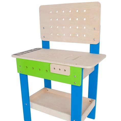 hape tool bench amazon com award winning hape master workbench kid s