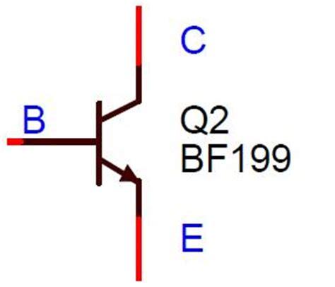 pnp resistor symbol pnp bjt resistor pnp wiring diagram and circuit schematic