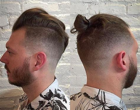 Men Growing Hair For A Top Knot | best hairstyles to grow an epic man bun or top knot man