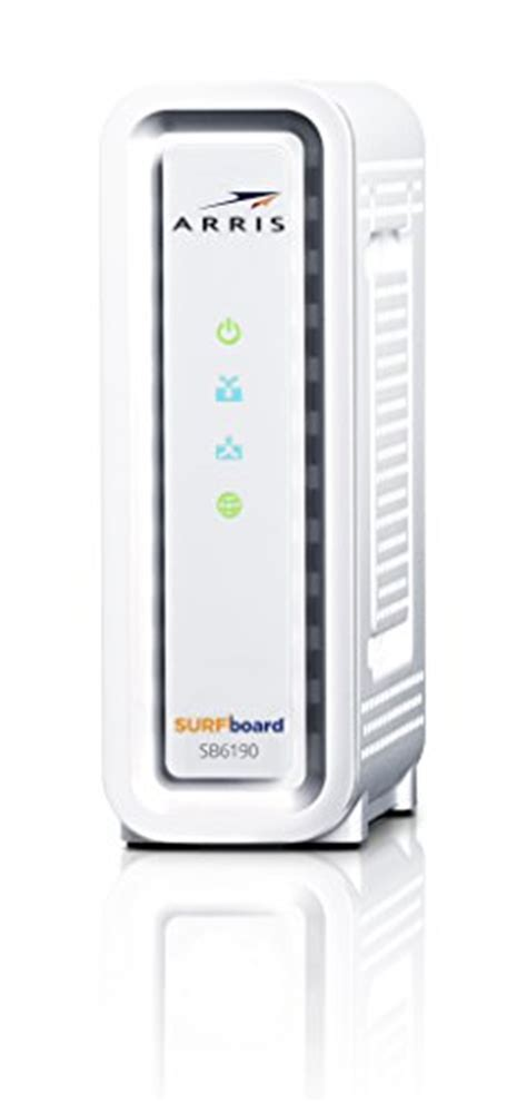 arris surfboard sb6190 lights arris surfboard sbg6900ac docsis 3 0 cable modem wi fi
