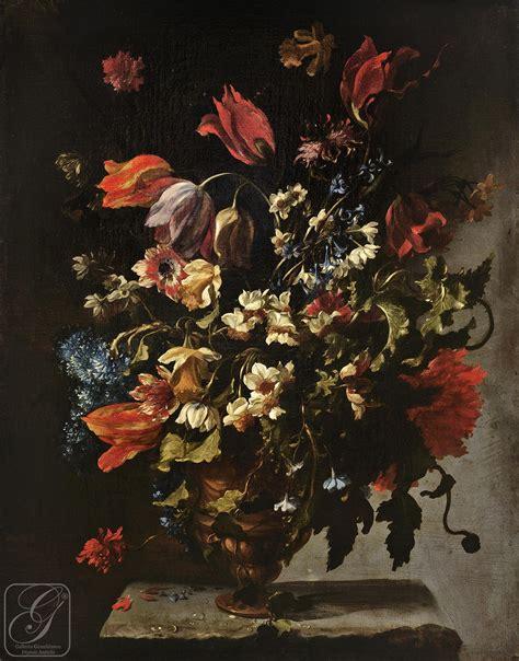 vasi di fiori dipinti natura morta con vaso di fiori galleria giamblanco