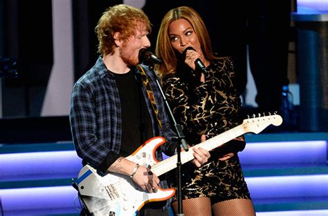 Sia Ed Sheeran Gaga Others To Release Albums In 2016 by Beyonce Ed Sheeran To Release A Duet Today Entitled Quot Quot