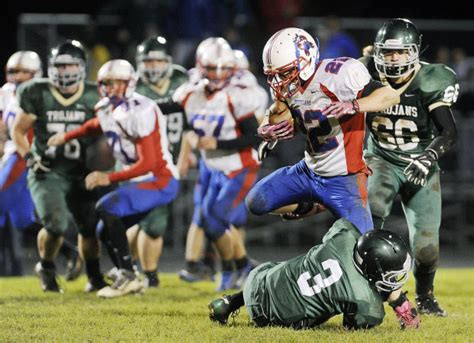 mshsl football sections southland stuns rushford peterson in first round high