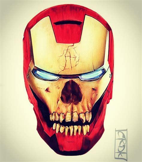 Skullring Ironman ironman skull illustration by cdeakes art the skull appreciaton society