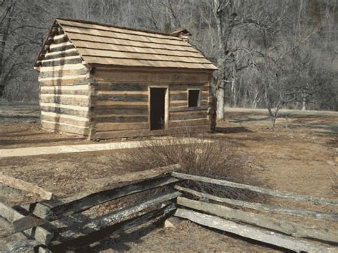 Abraham Lincolns Cabin by Abraham Lincoln Early Years
