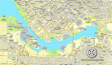 printable map vancouver bc vancouver vector map in adobe illustrator v 2 printable