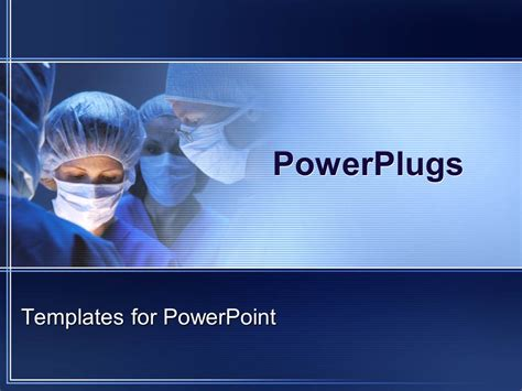 Powerpoint Template Doctors During Surgery In Operation Surgery Ppt Templates Free
