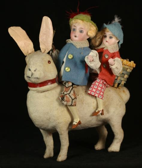 Size Antique German Easter Bunny - 354 best images about german containers on