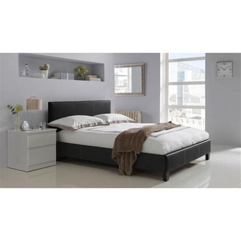 Buy Hygena Constance Small Double Bed Frame Black At Bedroom Furniture Argos