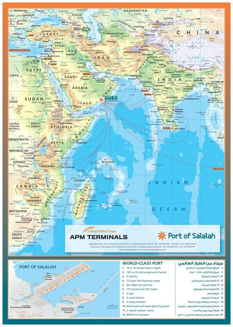 world regional customised map oxford cartographers