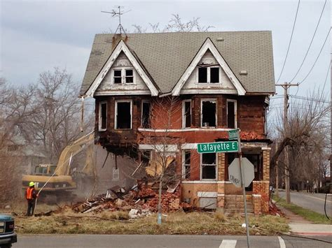 houses in detroit houses in detroit demolished with money intended to save