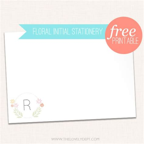 free printable stationery sets 10 free printable stationery sets that rival anything you