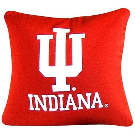 Indiana Pillow indiana hoosiers square micro bead pillow