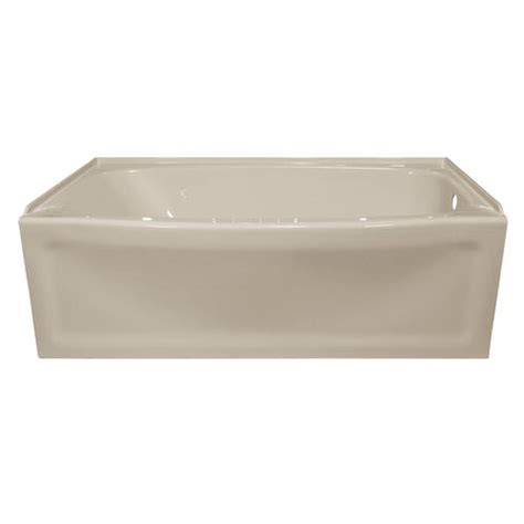 Bathtubs At Menards by Lyons Contour 60 Quot X 32 Quot X 19 Quot Right Drain Bathtub At