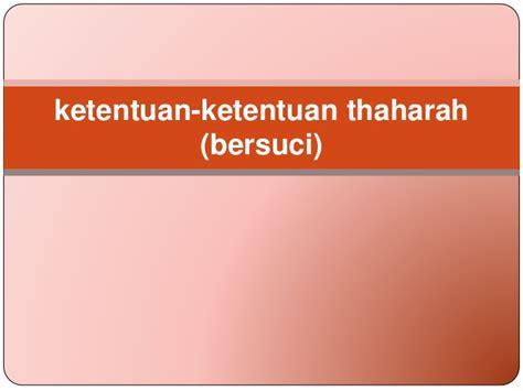 Rahasia Bersuci Al Ghazali N 1 ppt bab v thaharoh