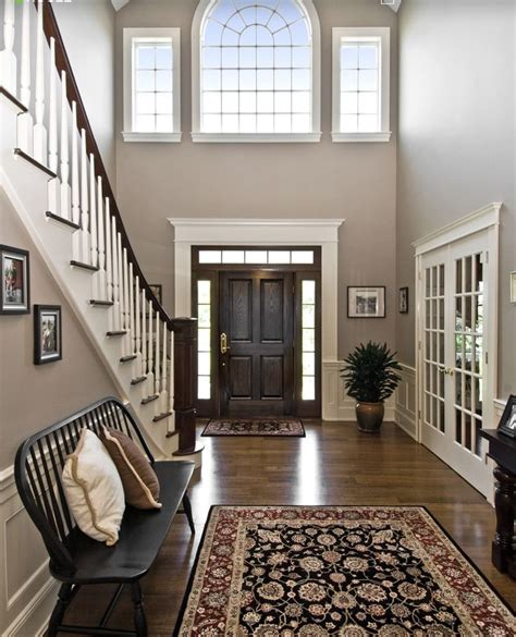 foyer colors entryway