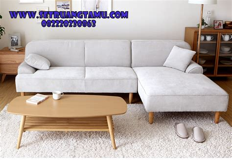 Sofa Sudut Di Semarang sofa sudut l retro minimalis furniture set ruang tamu
