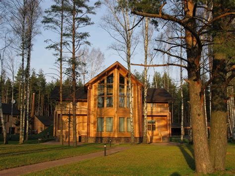 top 5 luxurious log cabins in the us travefy artichouse hunting lodge russia