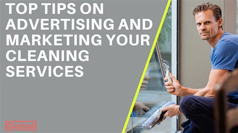 tips on advertising and marketing your cleaning services