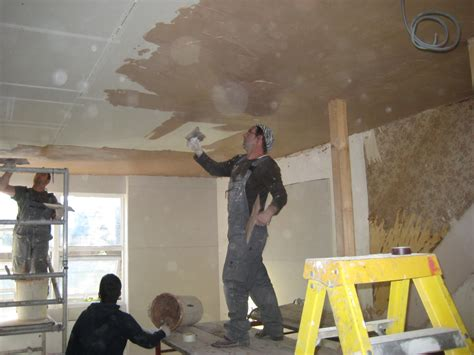 How To Repair Plaster Ceilings by Plastering Ceiling