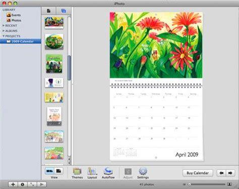 calendar design creator calendrier iphoto comment faire calendrier photo avec