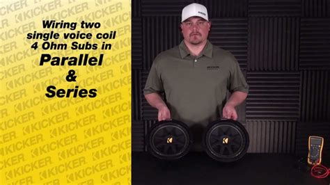 subwoofer wiring wiring  svc subs  series
