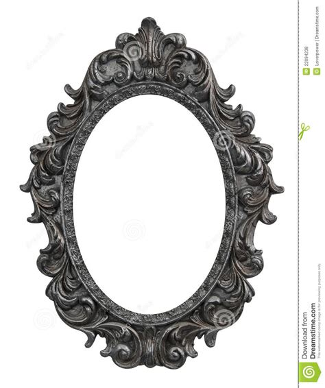baroque oval frame stock photo image of grunge photo