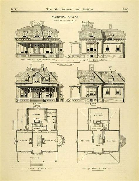 suburban house floor plan 269 best vintage home plans images on pinterest vintage