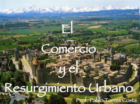 imagenes de la vida urbana ciudad y comercio medieval