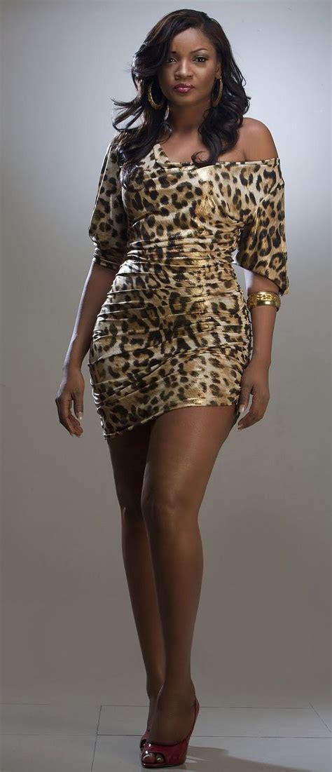 latex ankara style in nigeria omotola jalade ekeinde nollywood star picture dresses